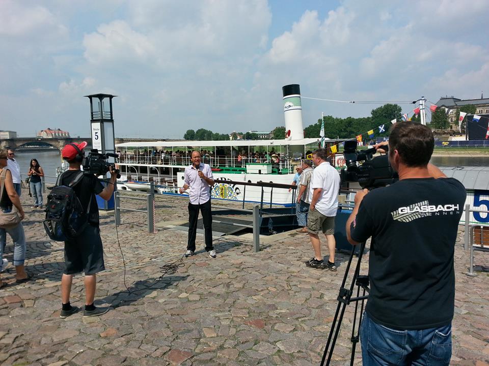 Stadtbesichtigung und Dampferfahrt in Dresden